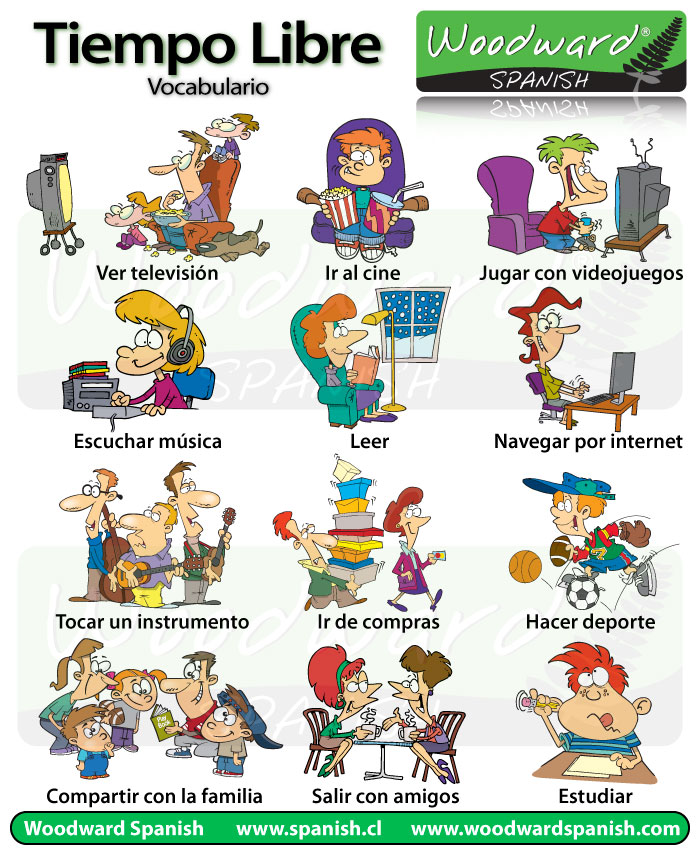 free-time-activities-in-spanish